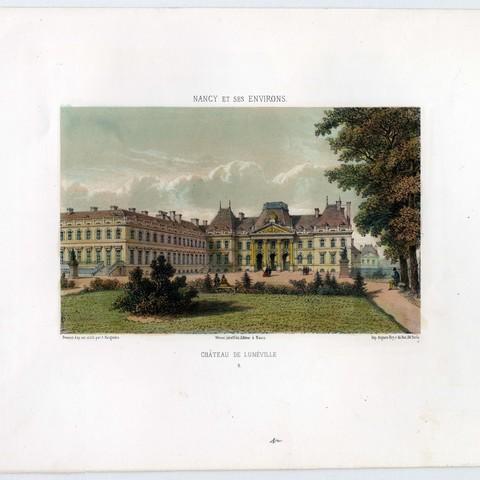 Contenu du Le château de Lunéville