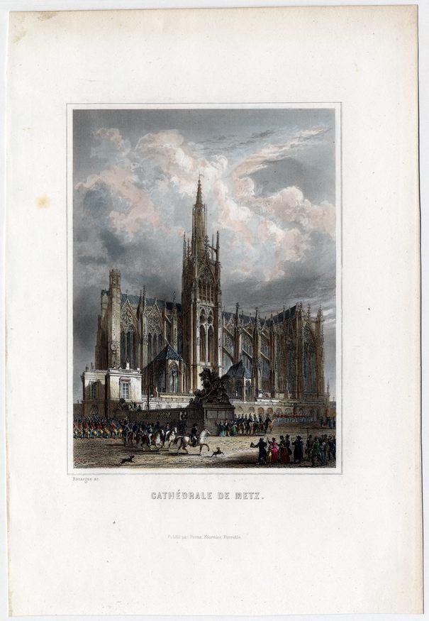 Contenu du La cathédrale de Metz, témoin de l'évolution de la ville
