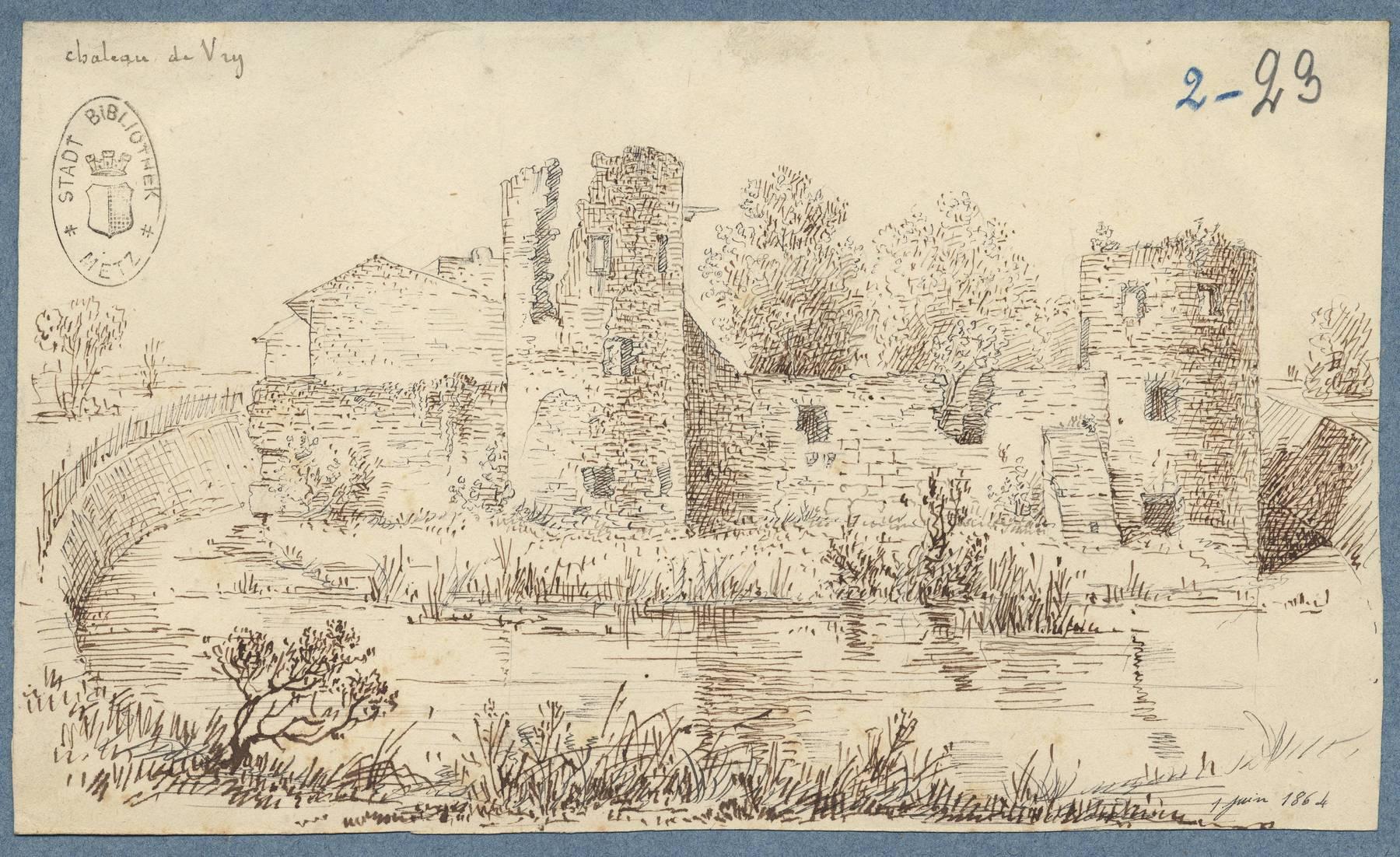 Contenu du Château de Vry