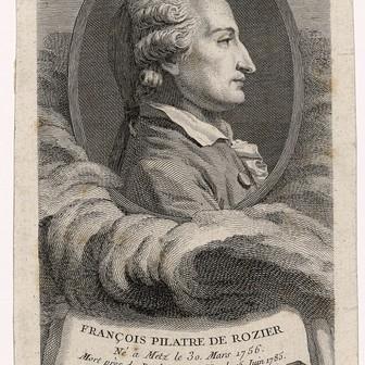 Contenu du Le premier aéronaute : Pilâtre de Rozier