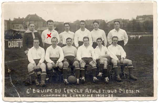 Contenu du Grenat et blanc, les débuts du FC Metz