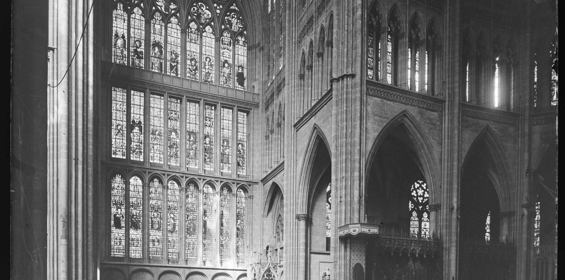 Contenu du Les vitraux de la cathédrale de Metz