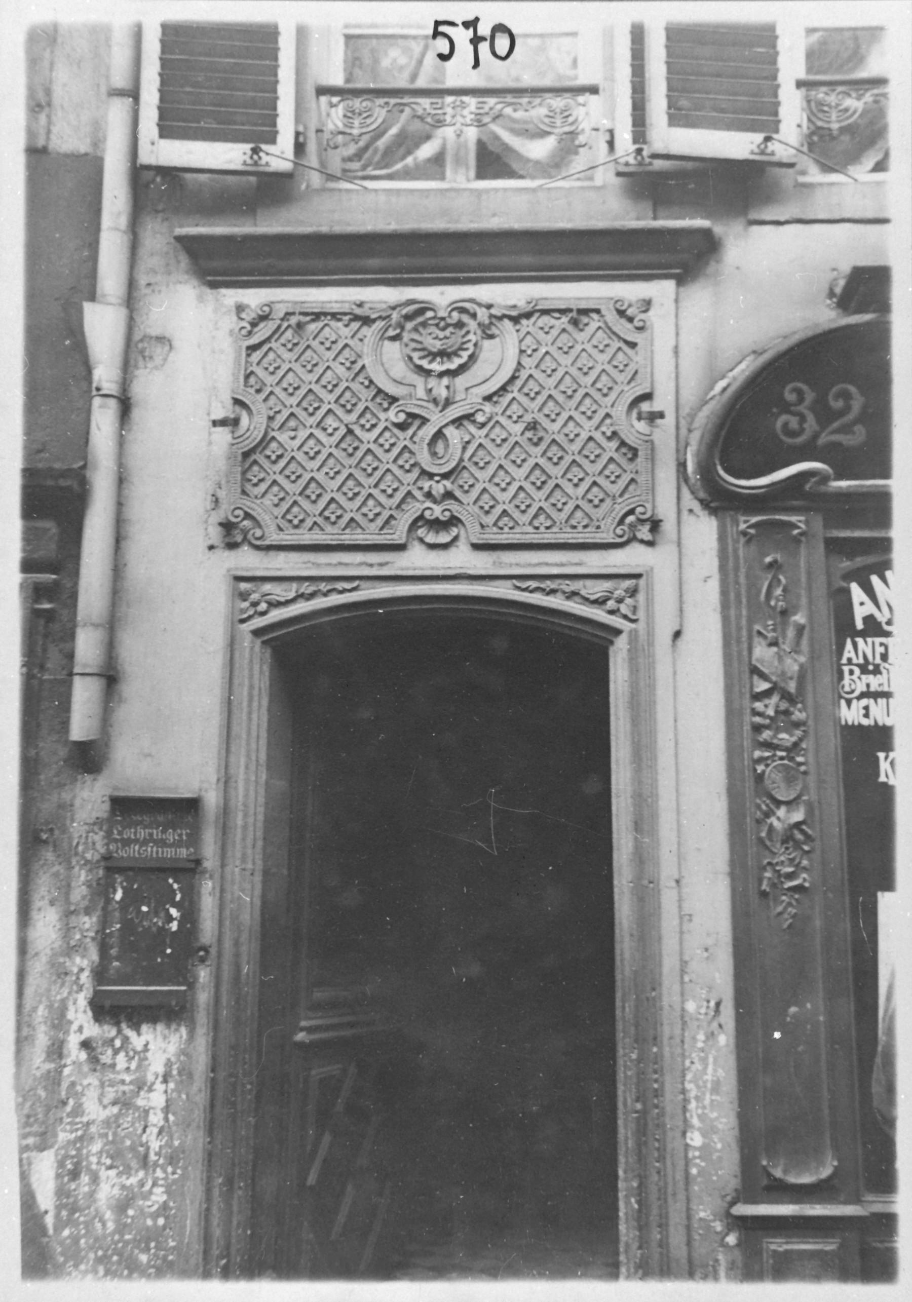 Contenu du Porte rue Mazelle