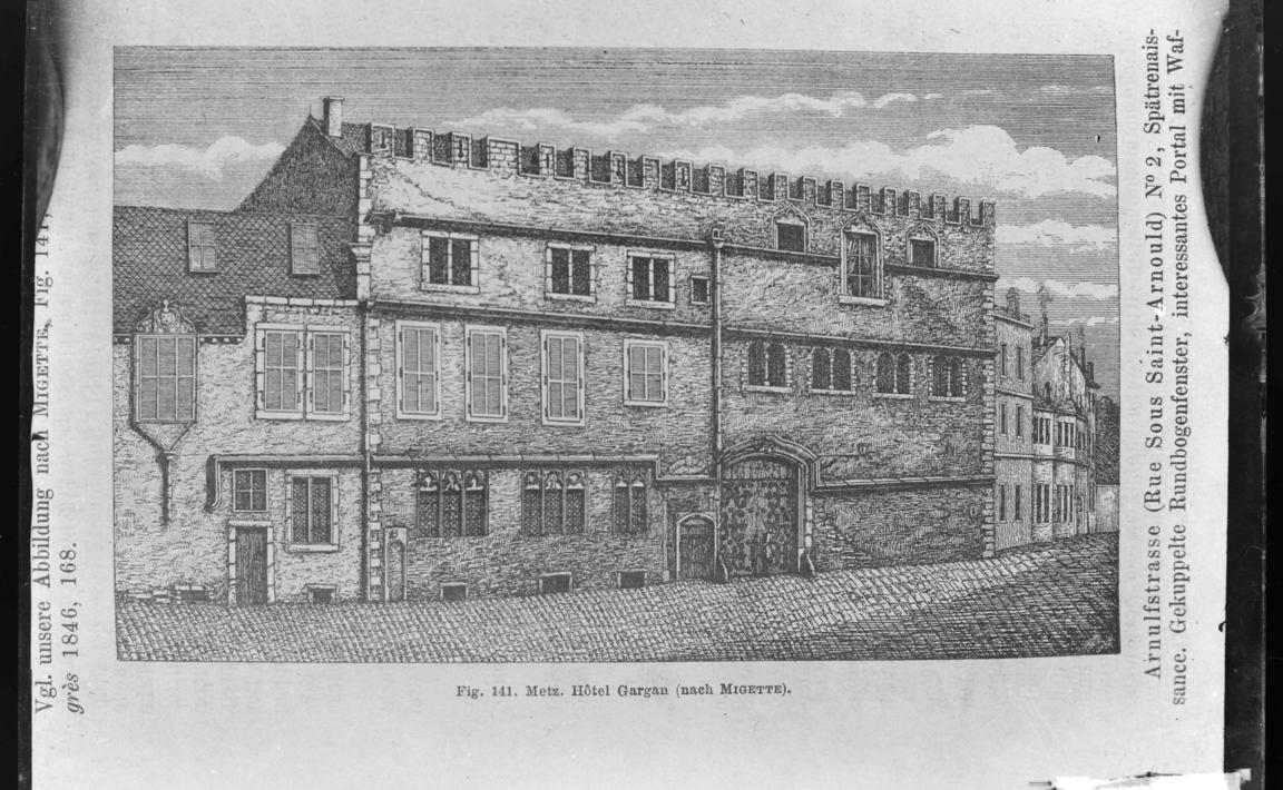Contenu du Hôtel de Gargan