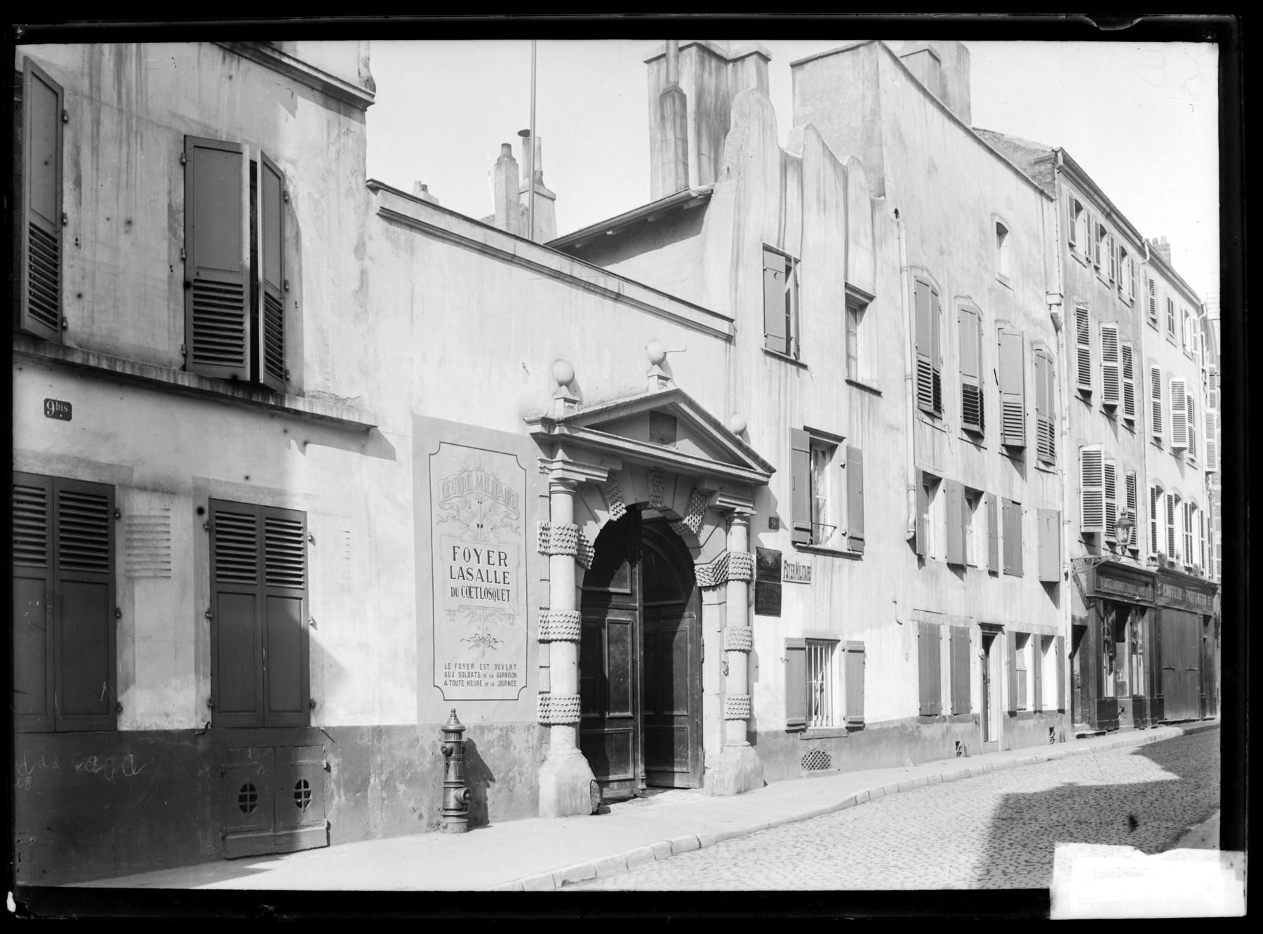 Contenu du Foyer Lasalle du Coëtlosquet