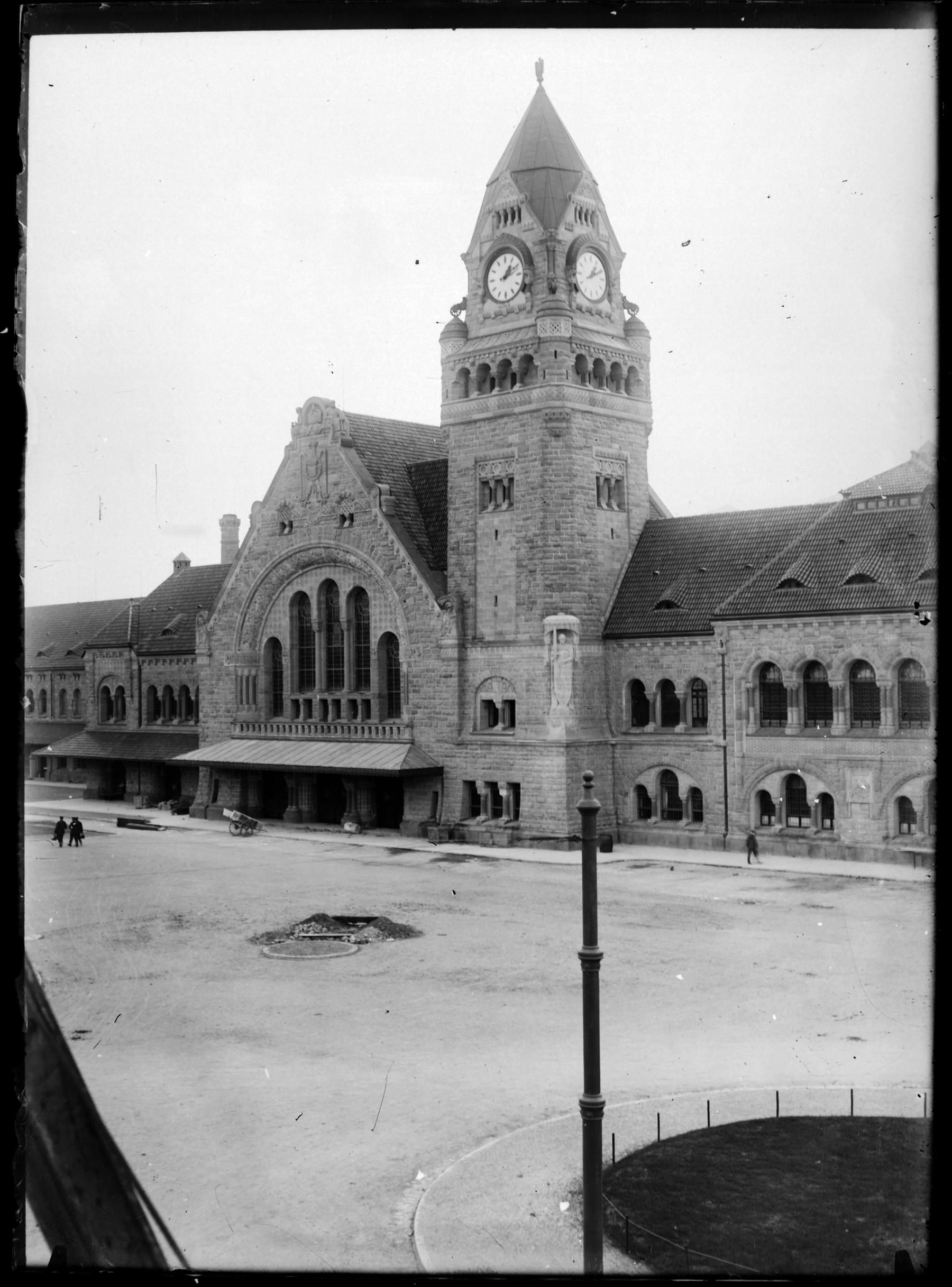 Contenu du La Gare de Metz