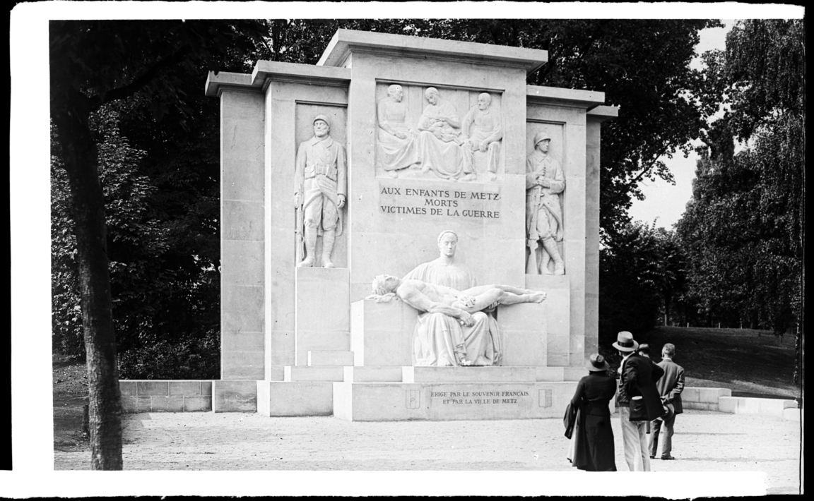 Contenu du Monument aux Morts de la ville de Metz