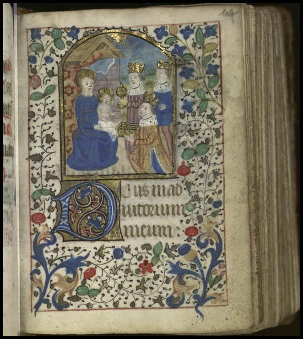 Contenu du La dévotion mariale dans les livres d'Heures