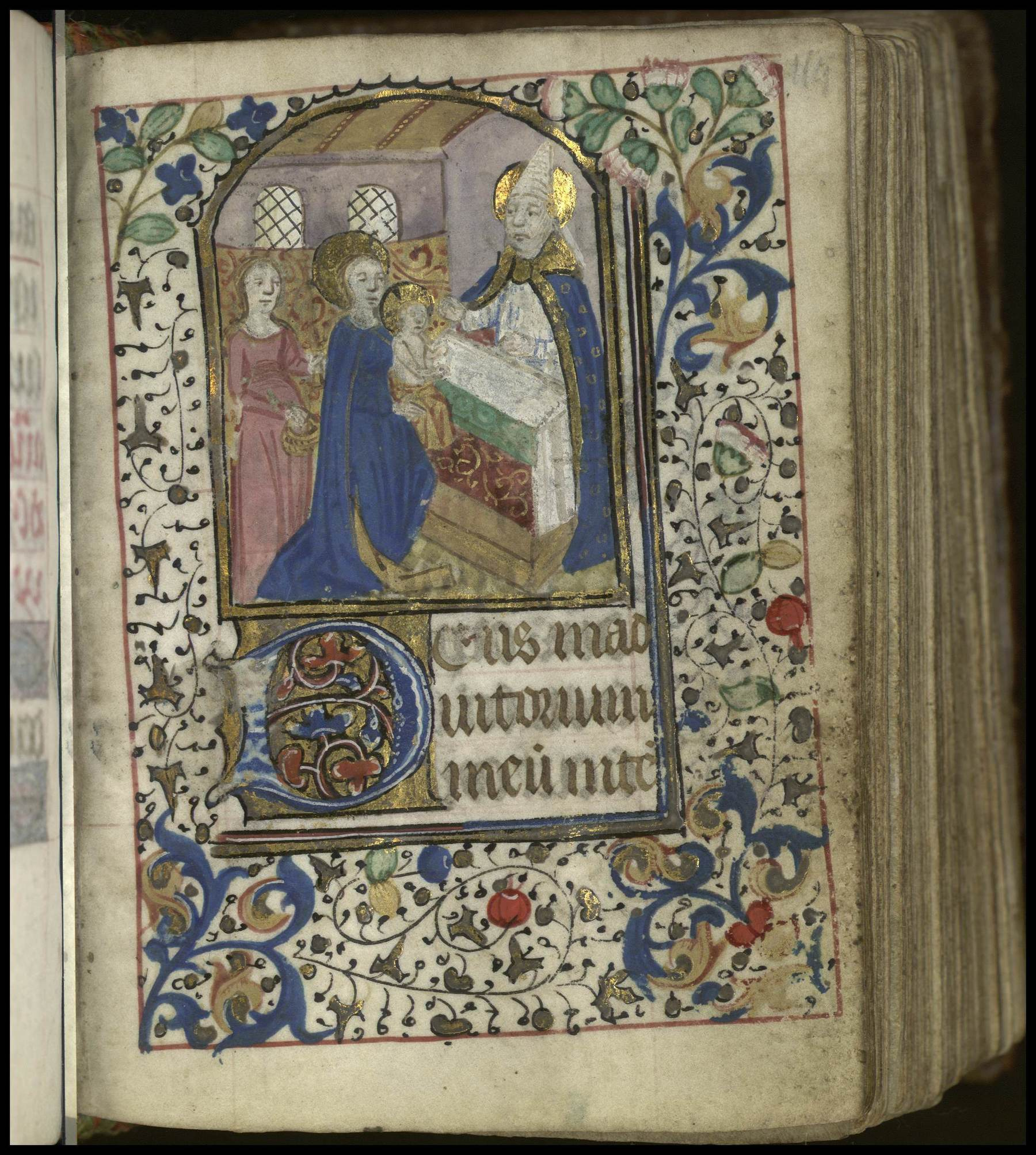 Contenu du Les heures de la Vierge : None