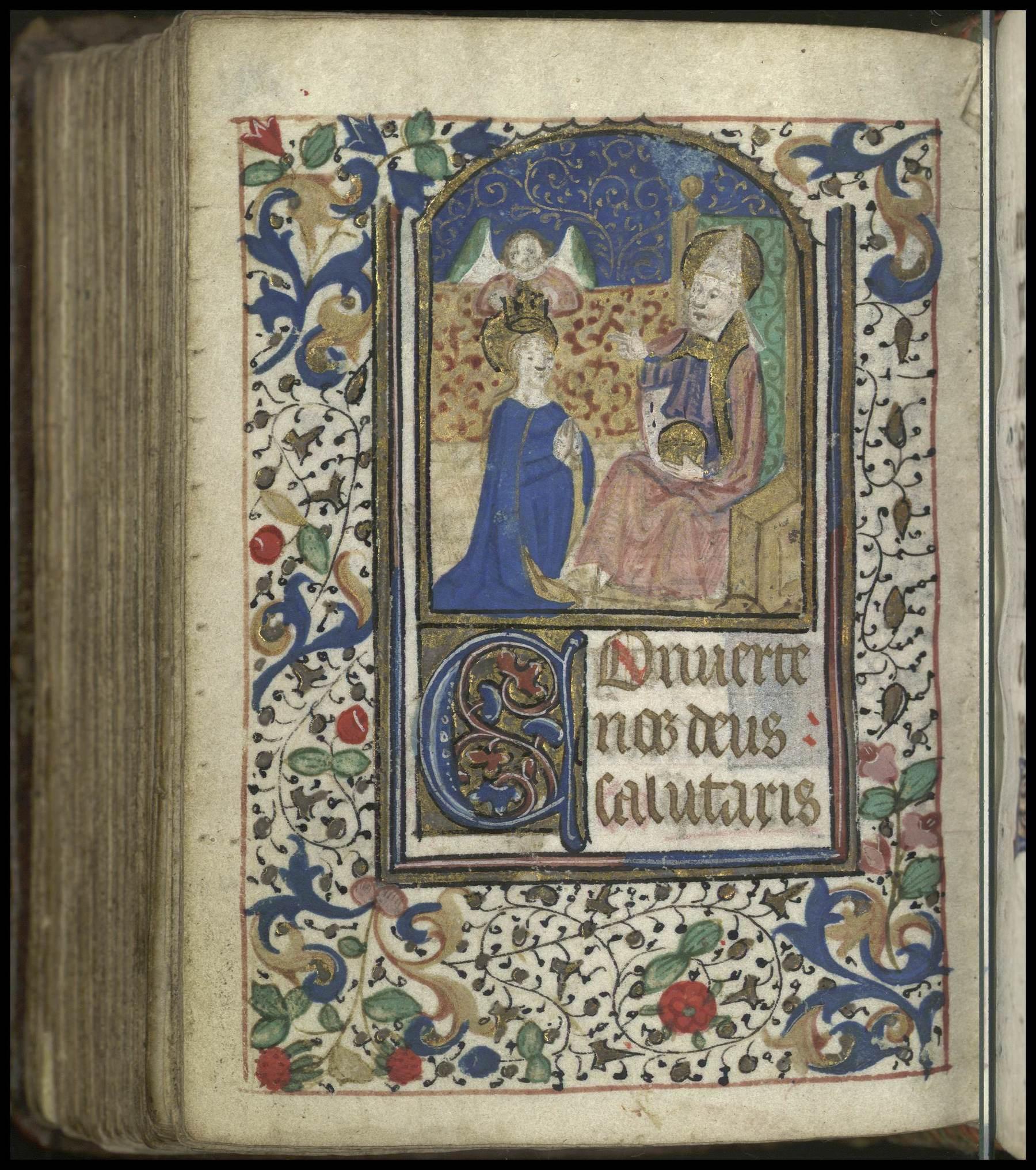 Contenu du Les heures de la Vierge : Complies
