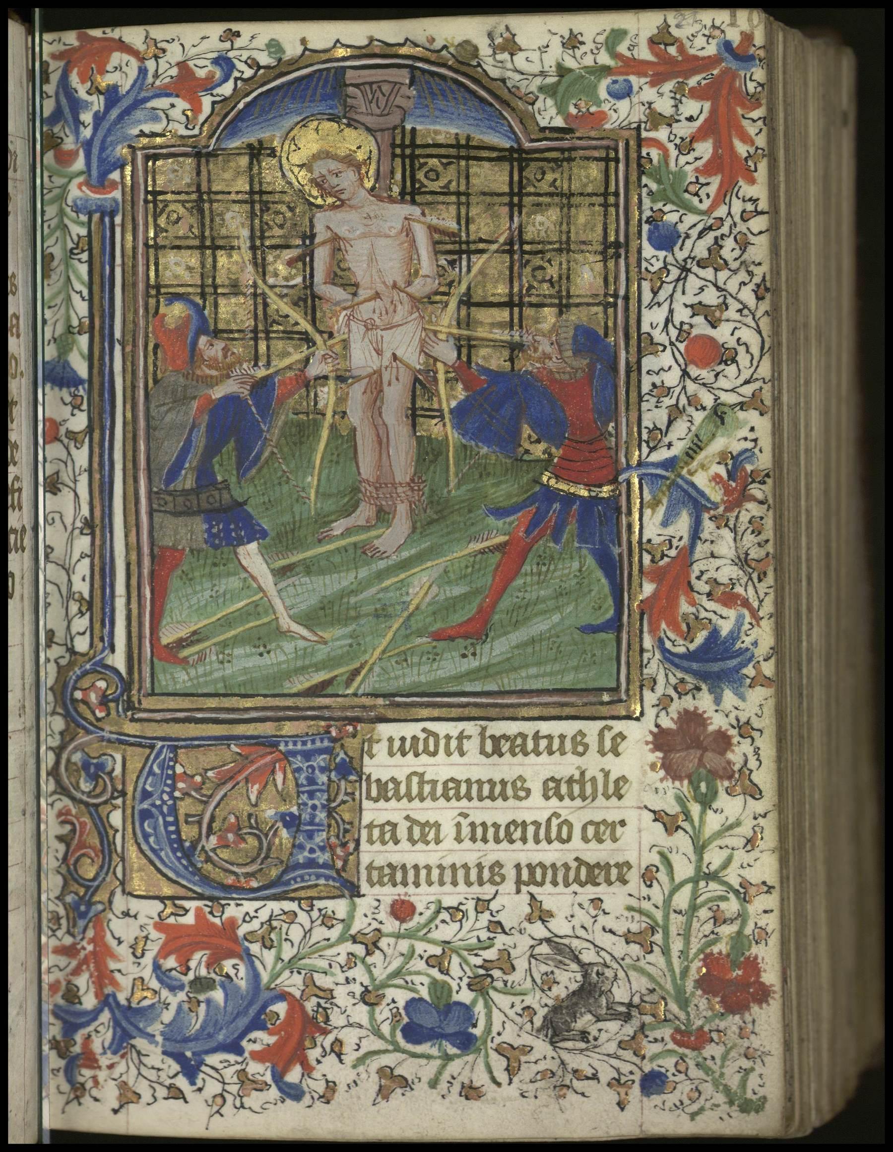 Contenu du [Saint Sébastien]