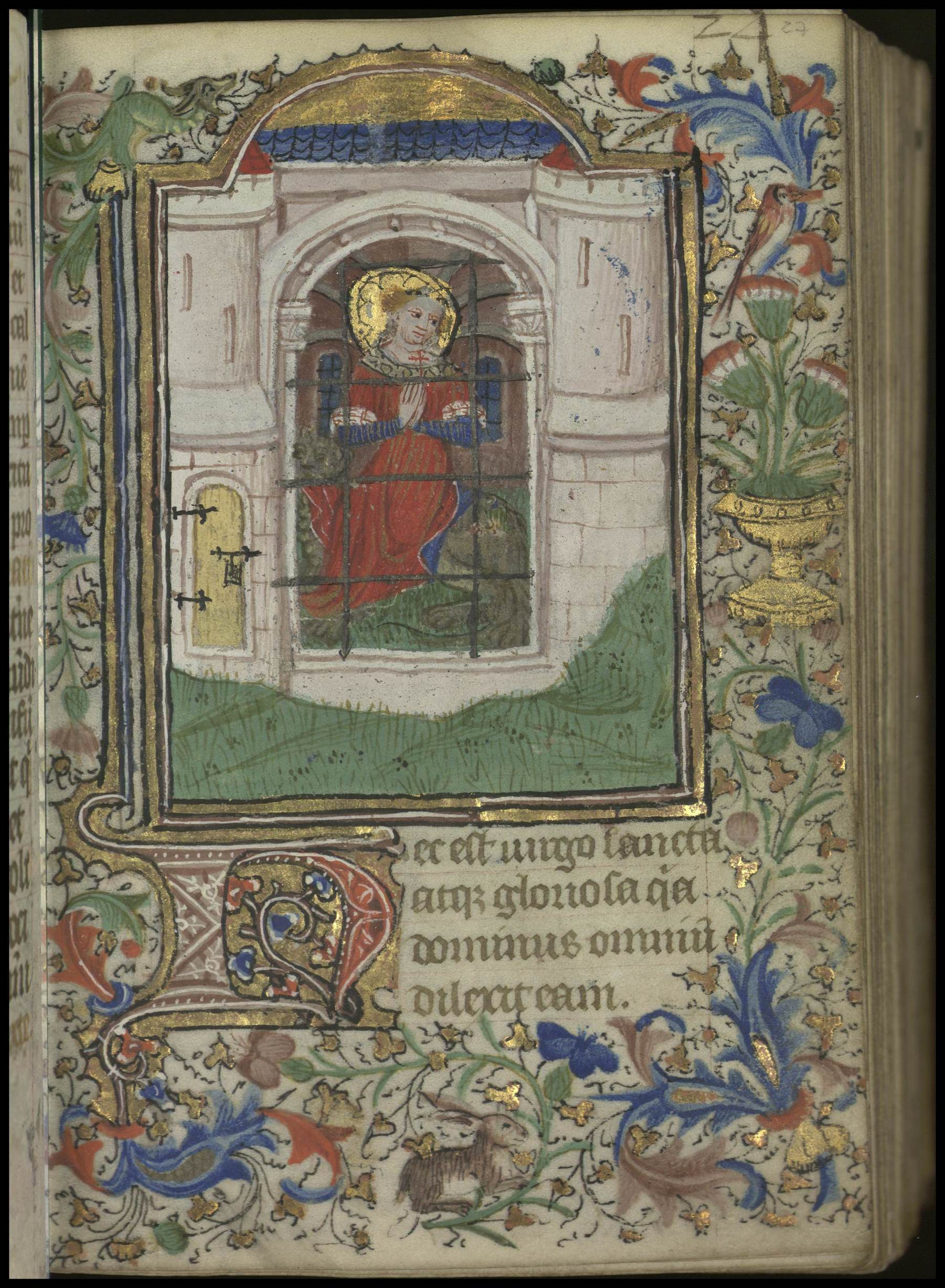 Contenu du [Sainte Marguerite d'Antioche]