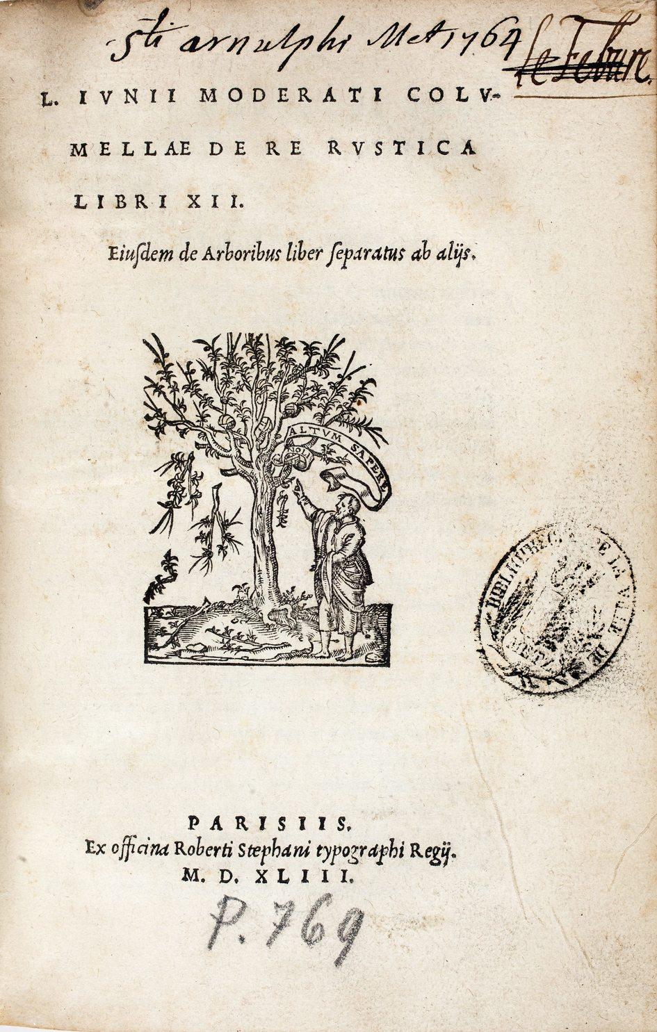 Contenu du Un Romain aux racines de la viticulture