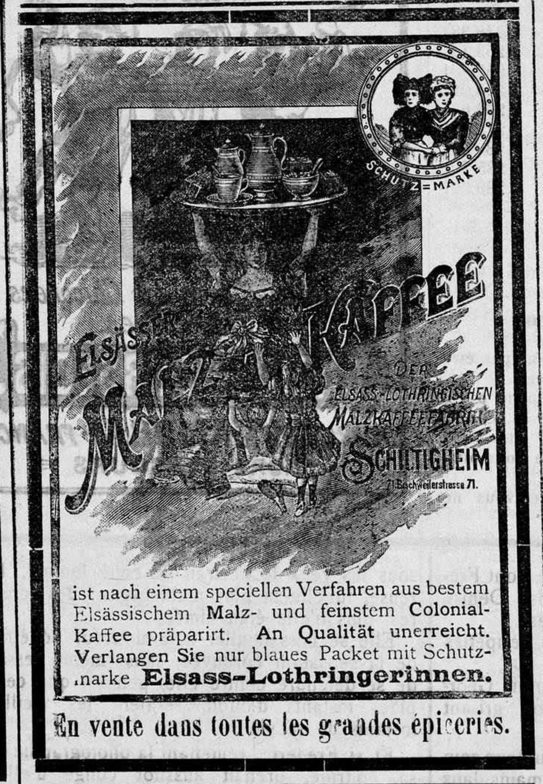 Contenu du Elsässer Malz-Kaffee
