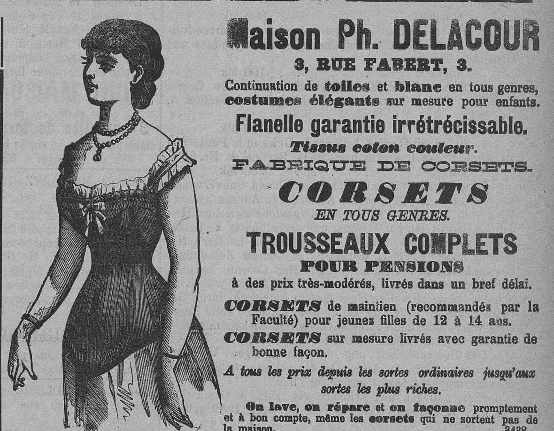 Contenu du Maison Ph. Delacour