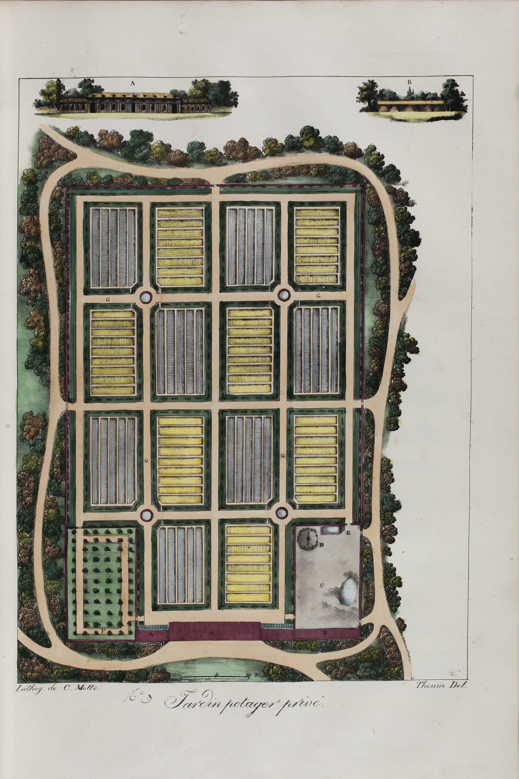 Contenu du Jardin potager privé