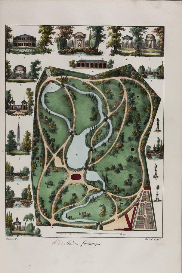 Contenu du Plans raisonnés de toutes les espèces de jardins