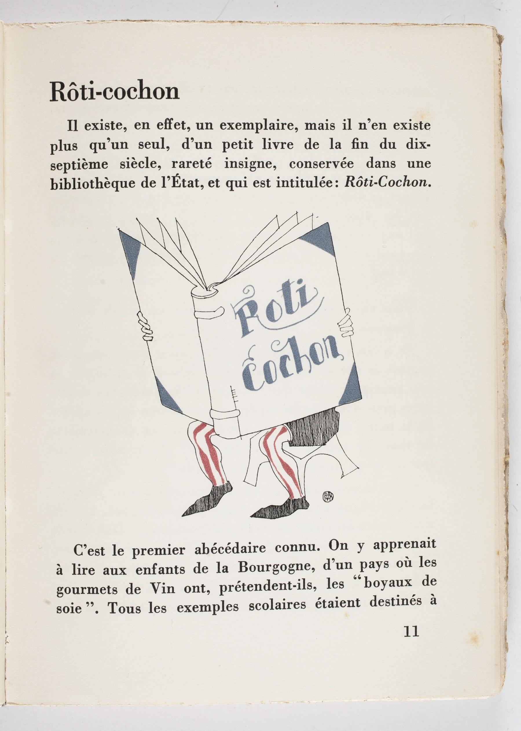 Contenu du Rôti-cochon