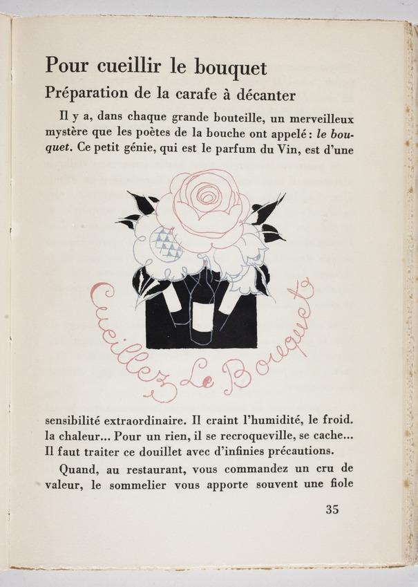 """Contenu du L'art et la manière de devenir un """"élégant du verre"""" !"""