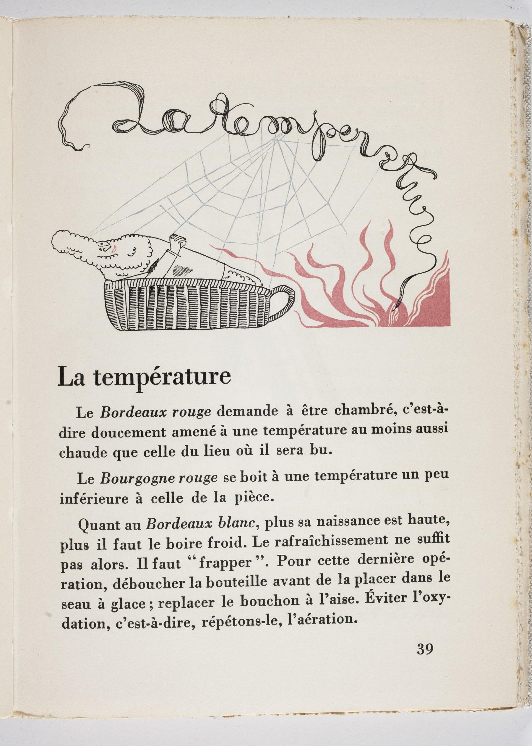 Contenu du La température