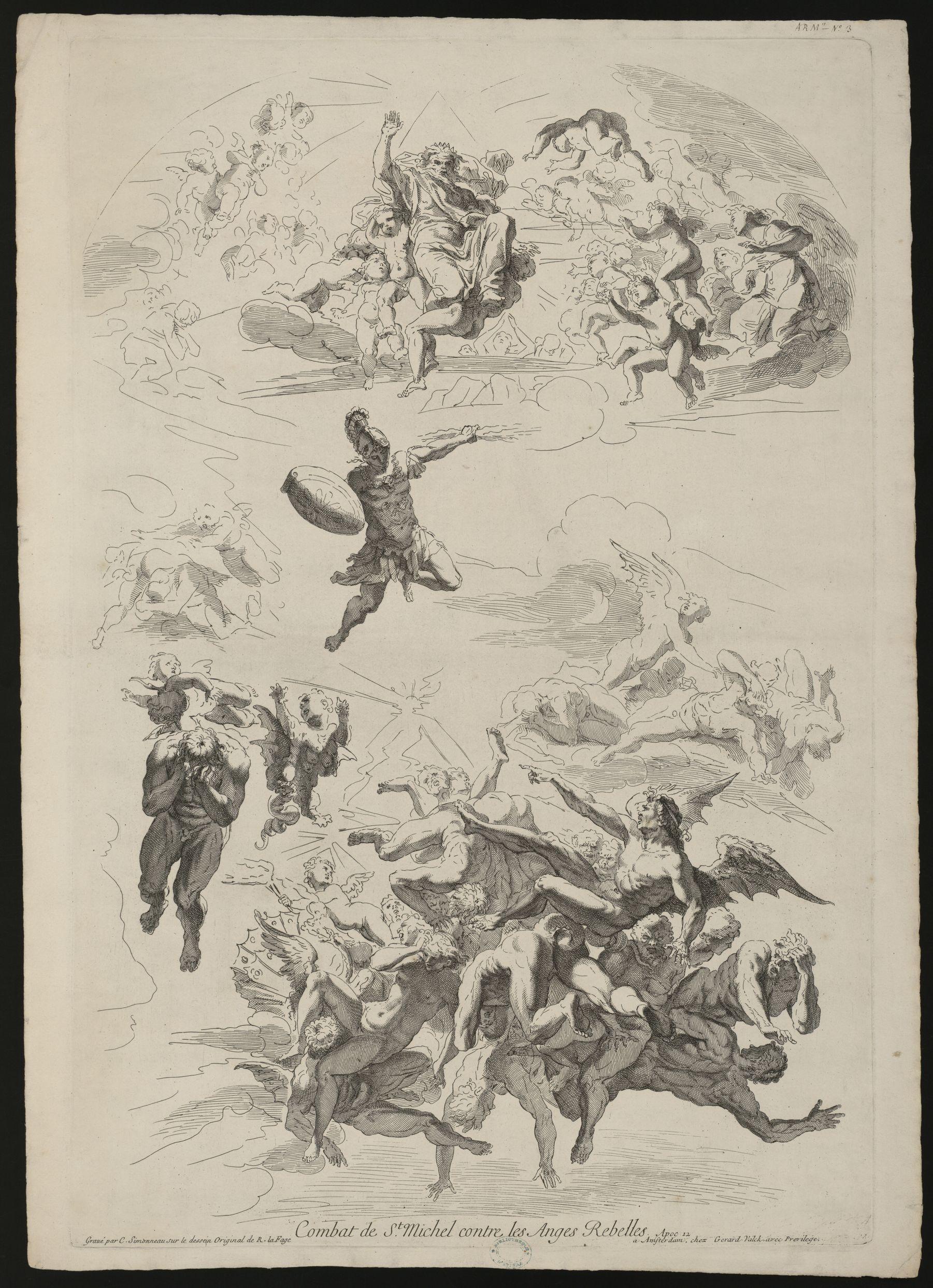 Contenu du Combat de Saint-Michel contre les anges rebelles