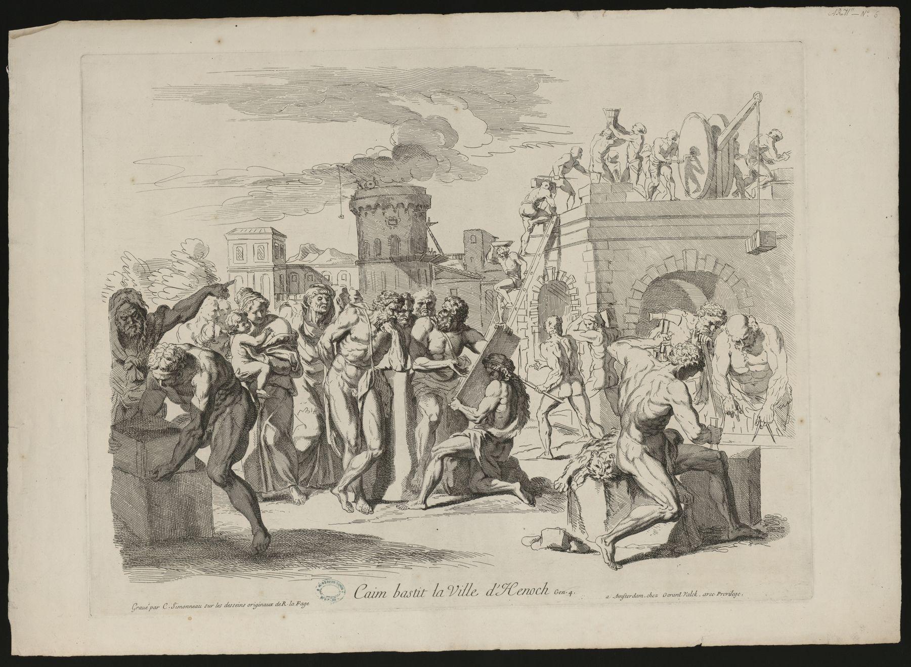 Contenu du Caim bastit la ville d'Henoch