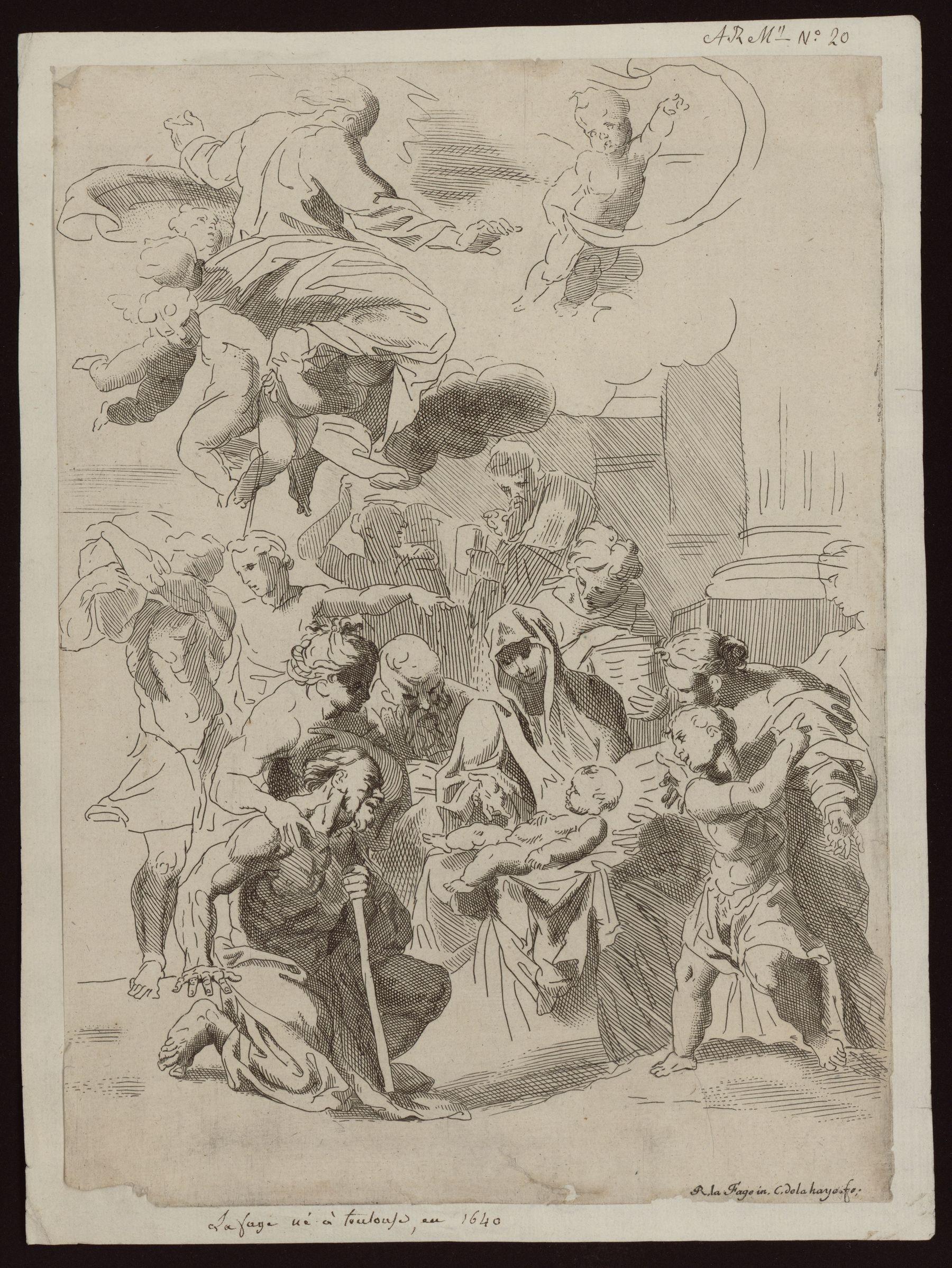 Contenu du Adoration des bergers