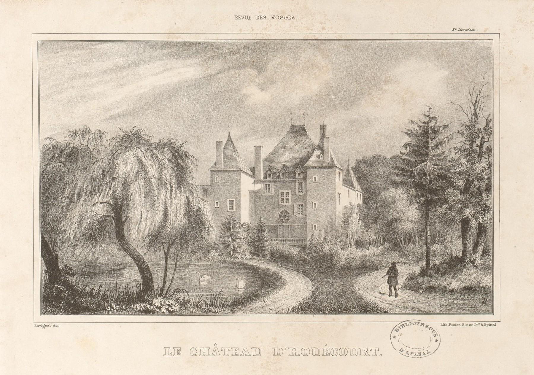 Contenu du Le château d'Houécourt