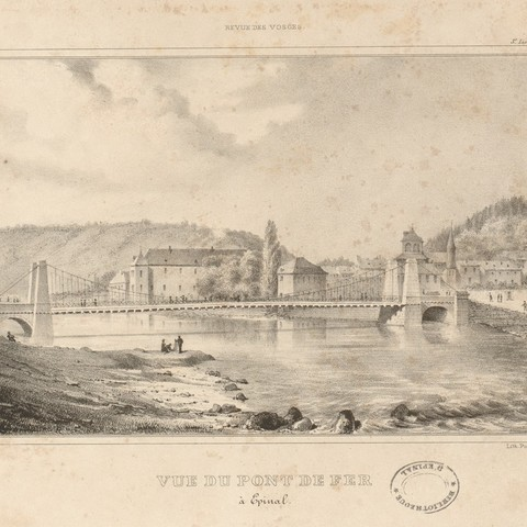 Contenu du Le Pont suspendu d'Épinal