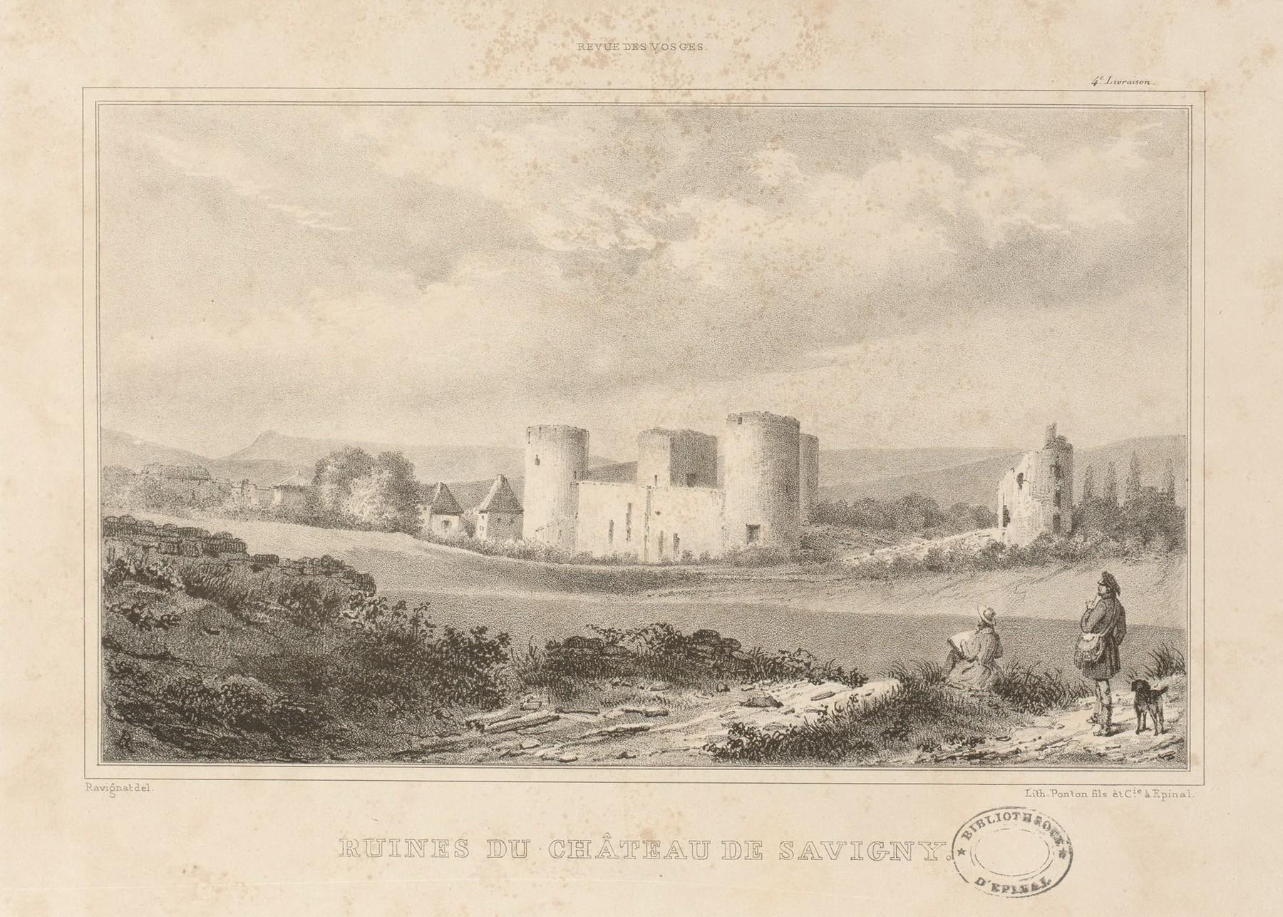 Contenu du Ruines du château de Savigny