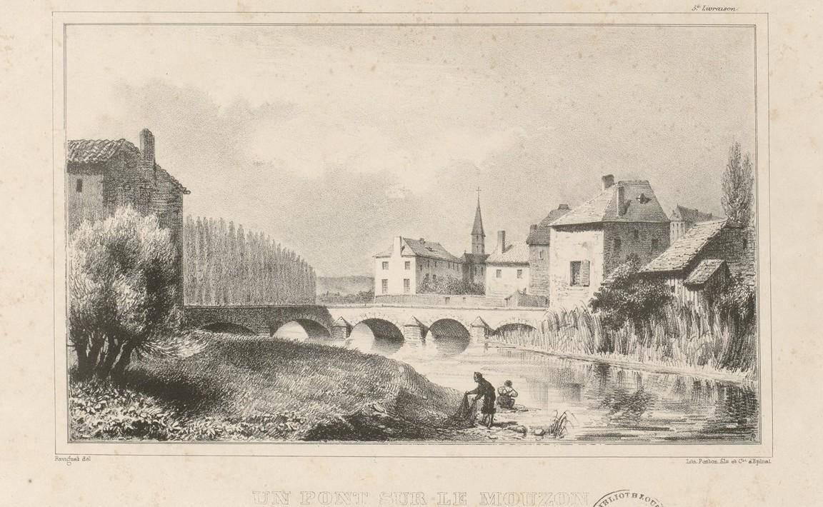 Contenu du Un pont sur le Mouzon (à Neufchâteau)