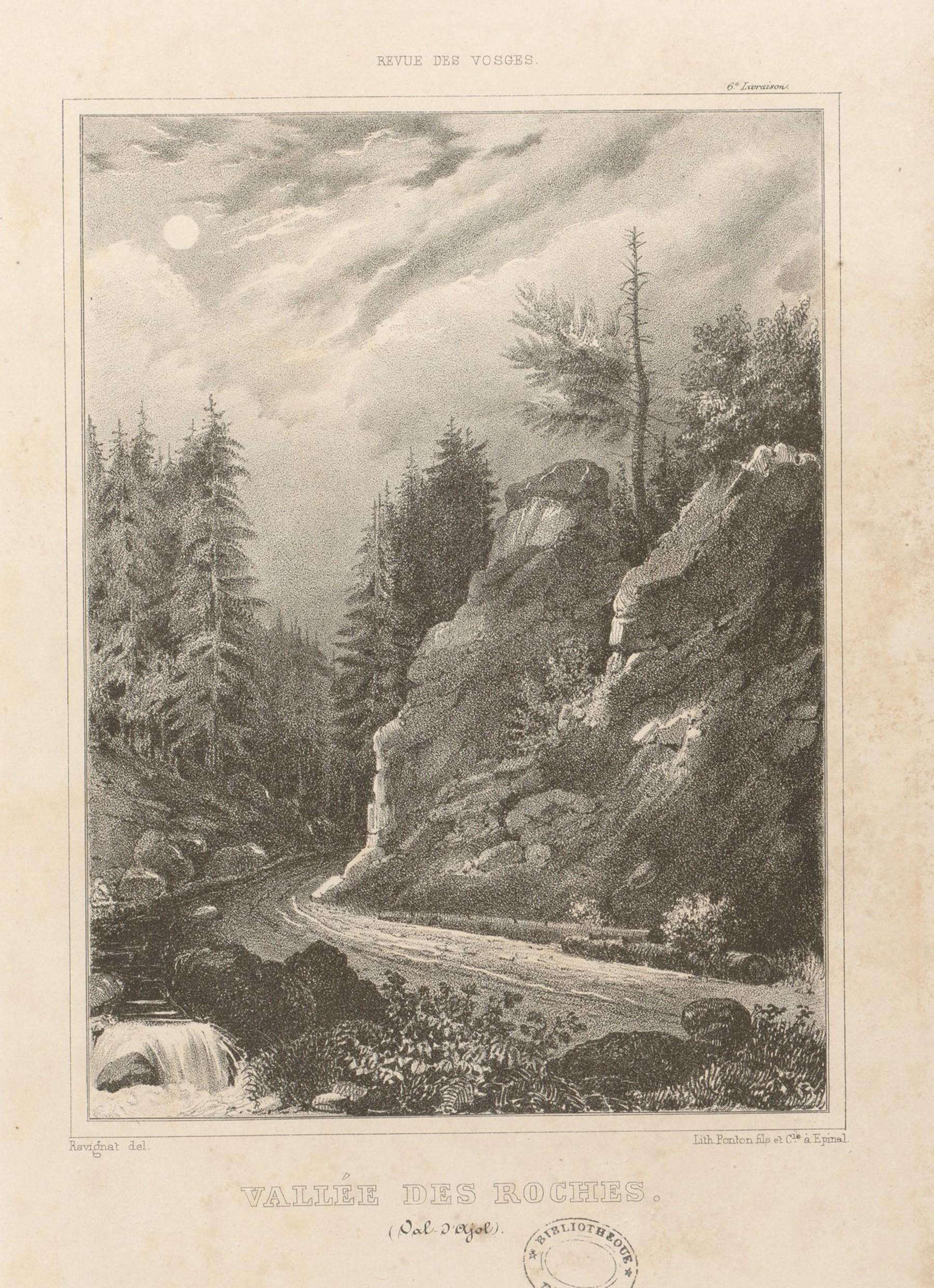 Contenu du Vallée des roches (Val d'Ajol)