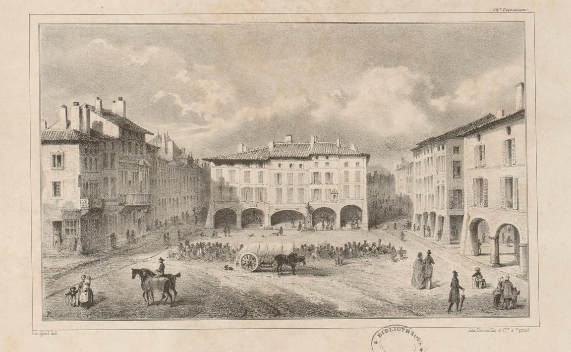 Contenu du Place des Vosges (Épinal)
