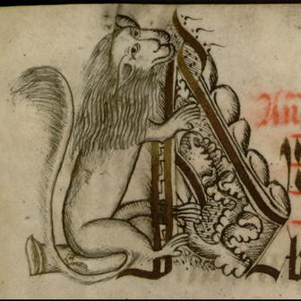 Les lettrines des manuscrits