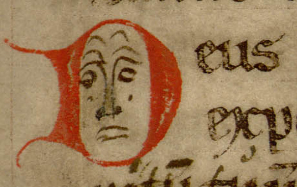 Contenu du Les lettrines des manuscrits