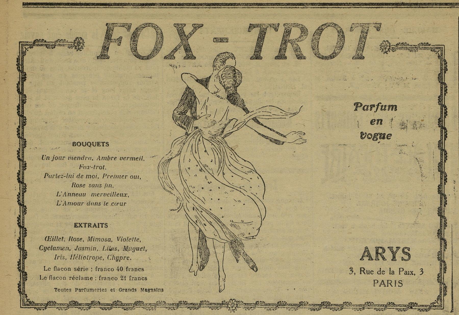 Contenu du Fox-Trot