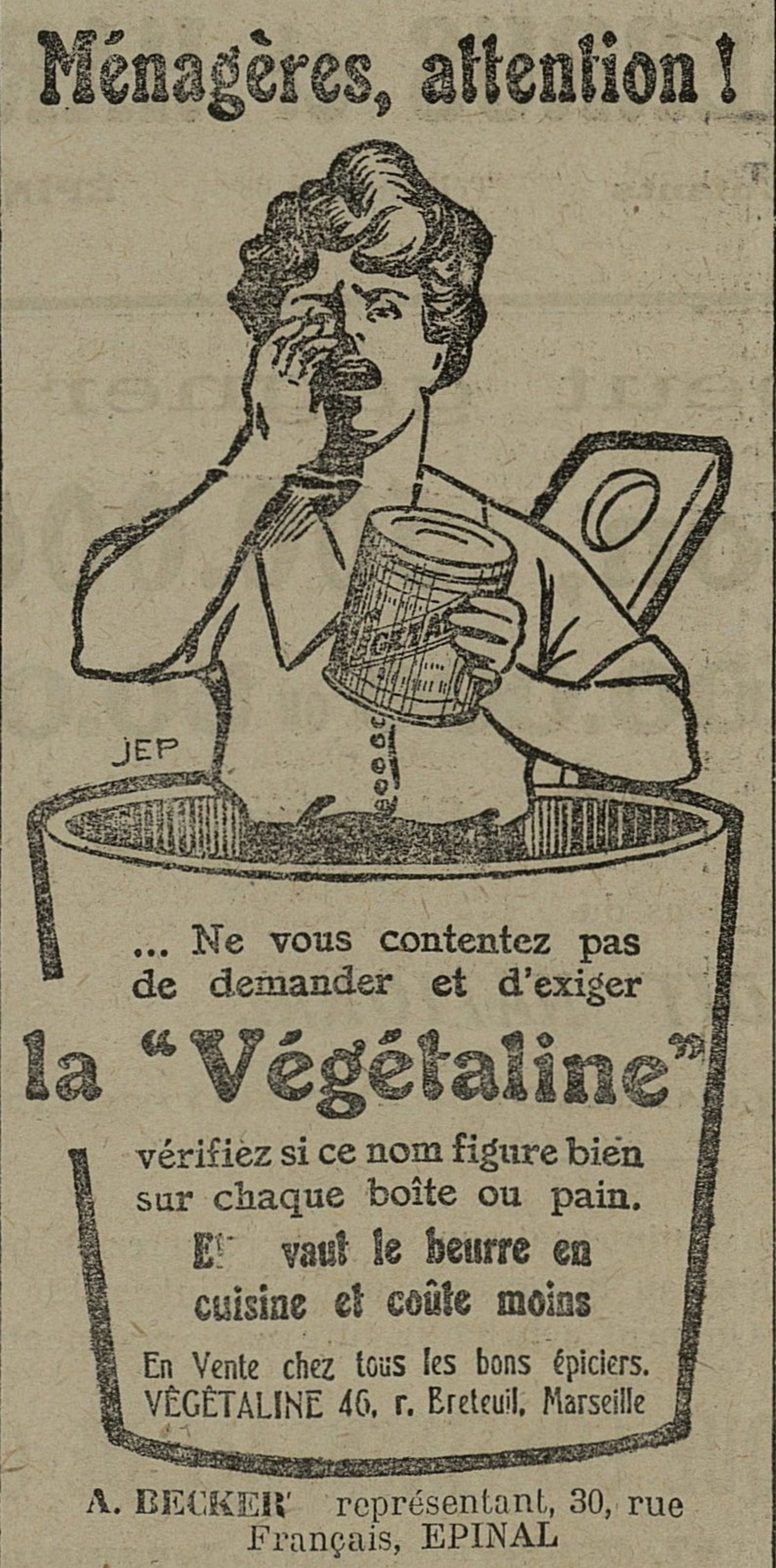 Contenu du La Végétaline