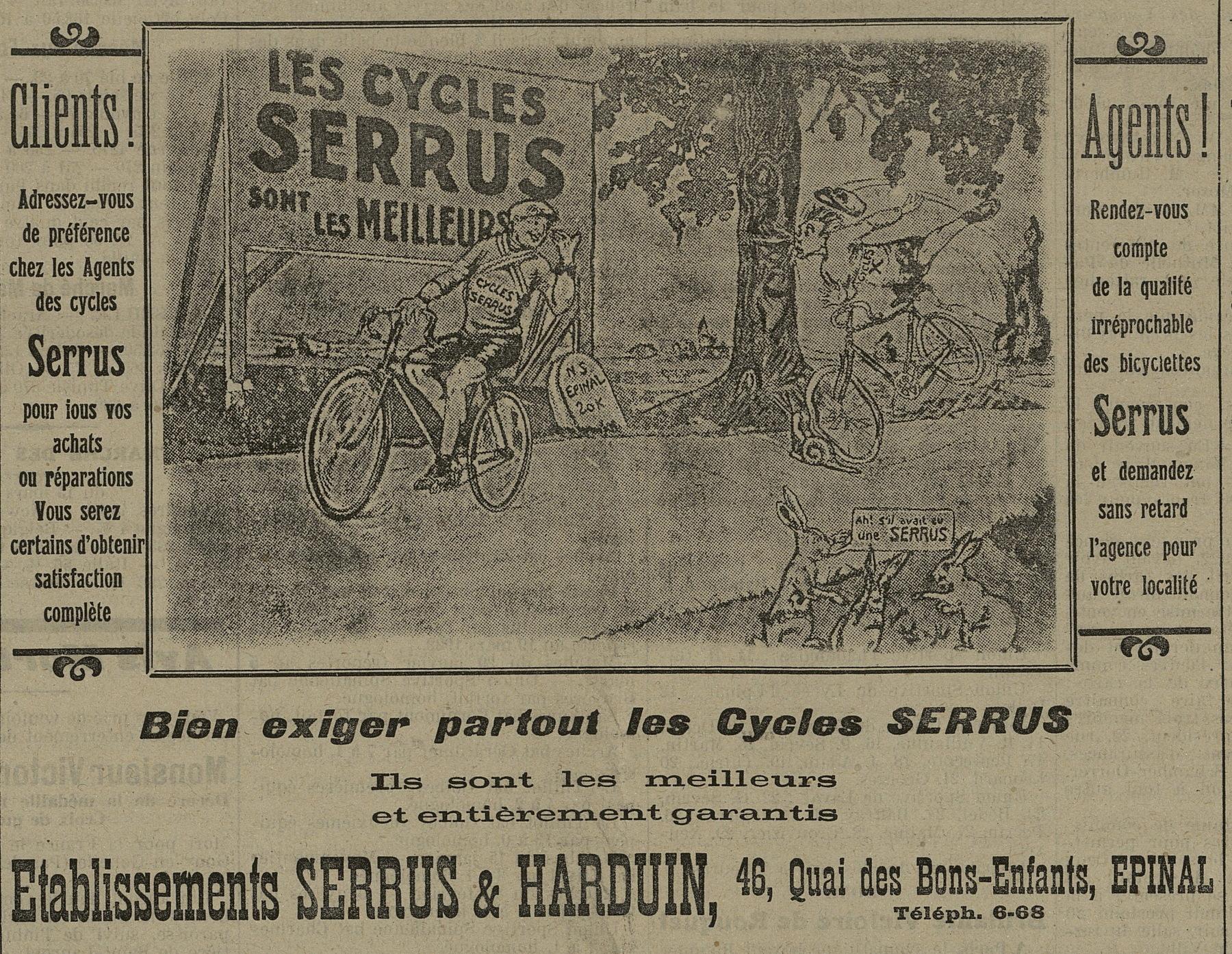 Contenu du Serrus