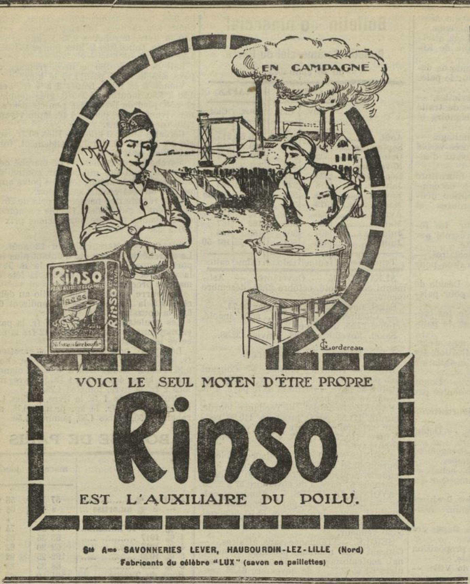 Contenu du Rinso