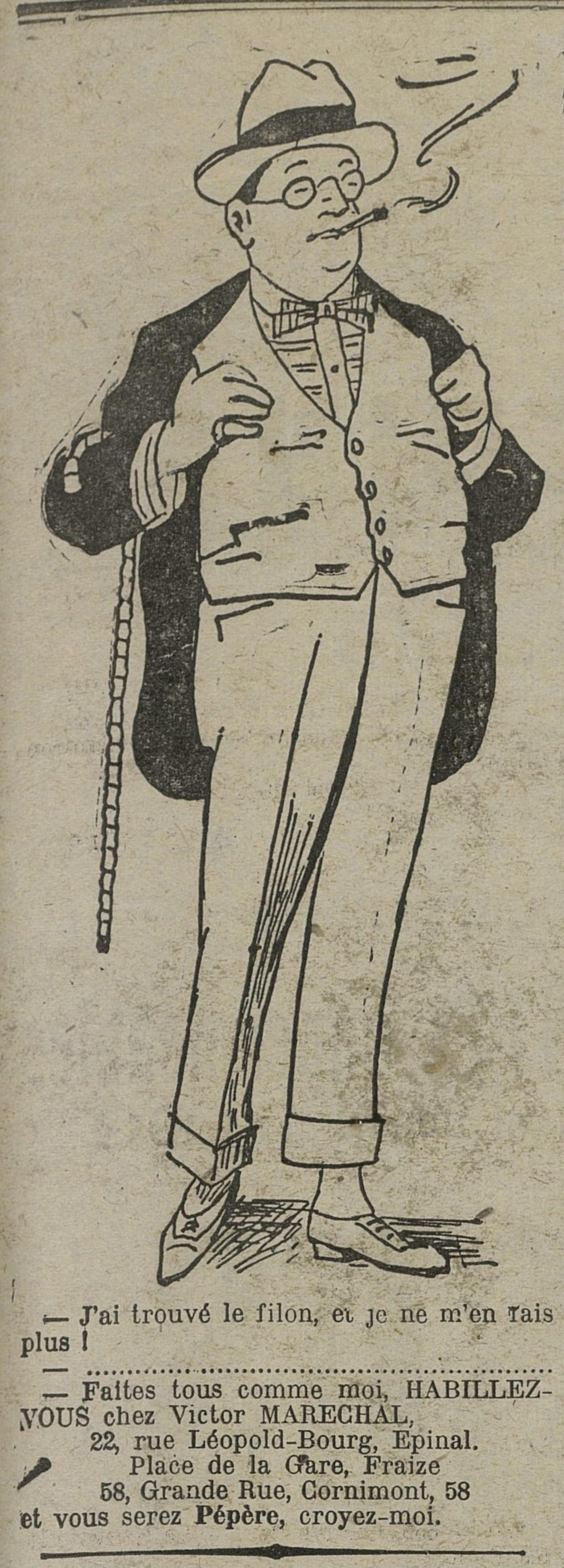Contenu du Vêtements Victor Maréchal