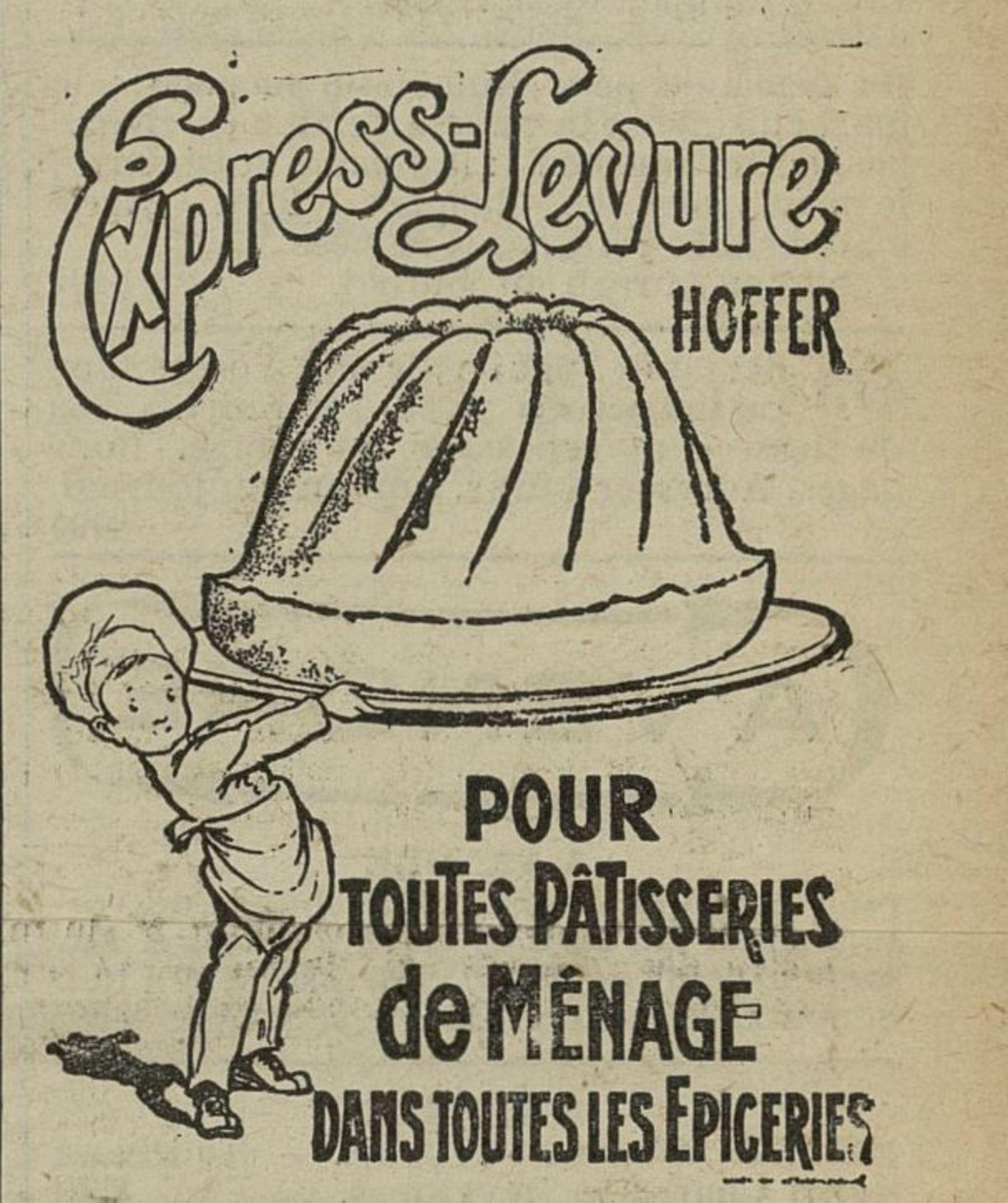 Contenu du Express-Levure Hoffer