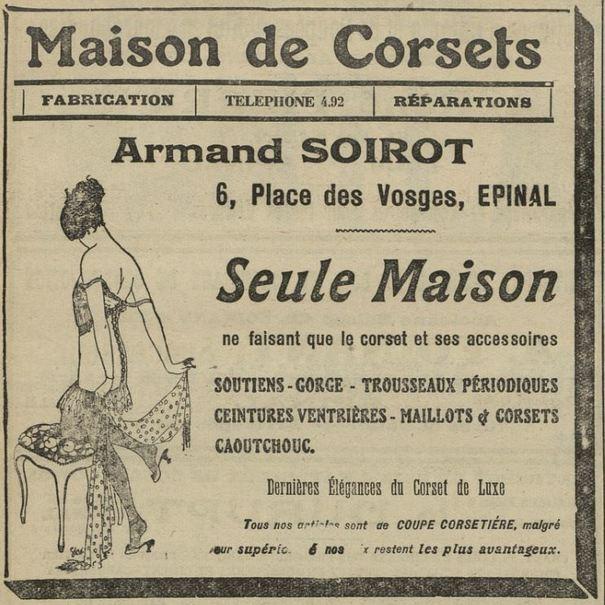 Le corset dans les années 1920