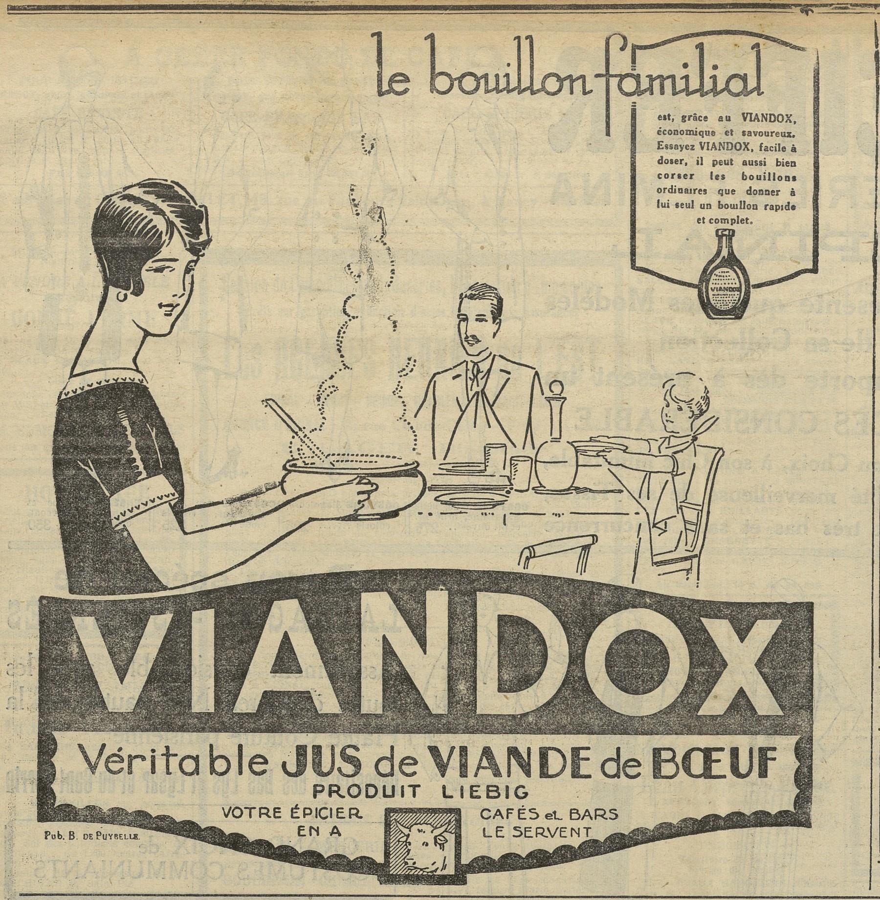Contenu du Viandox