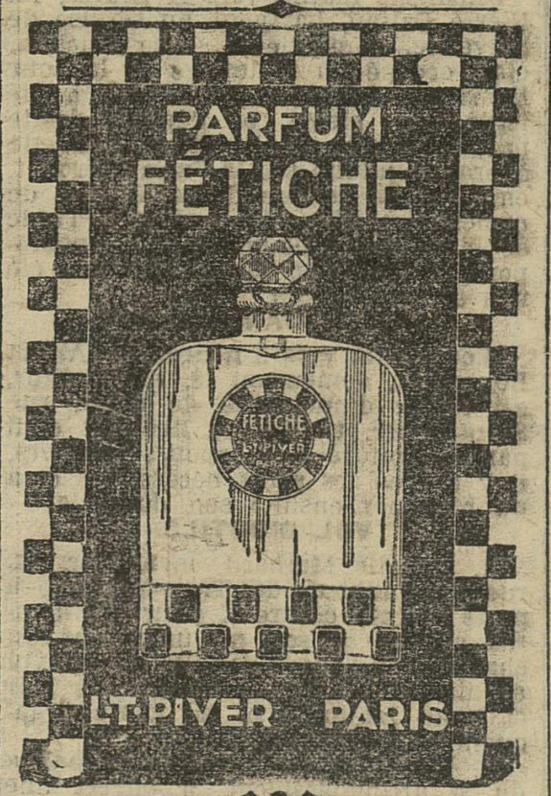 Contenu du Parfum Fétiche