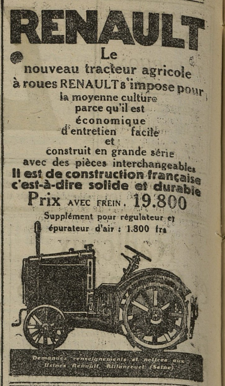 Contenu du Renault