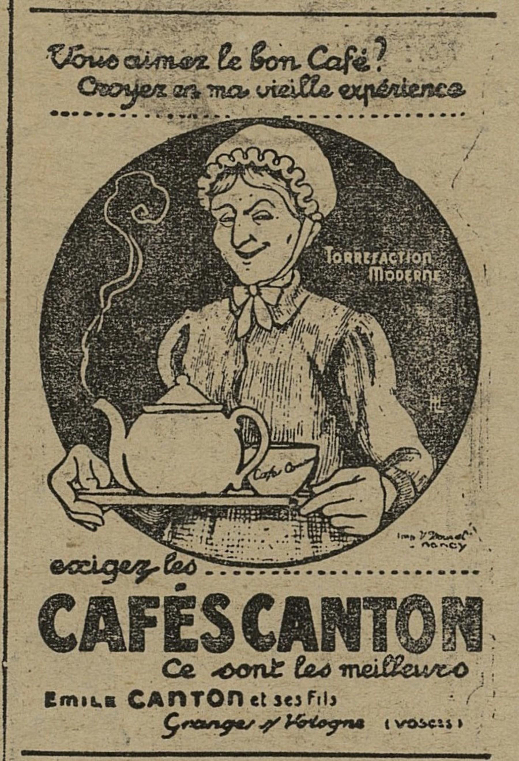 Contenu du Café Canton