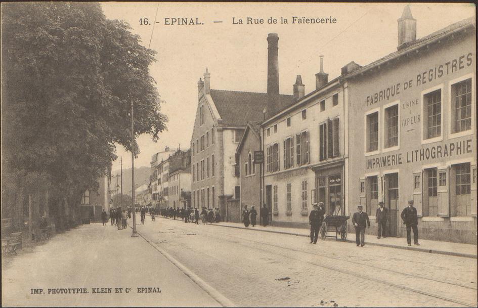 Contenu du Les fabriques des Vosges