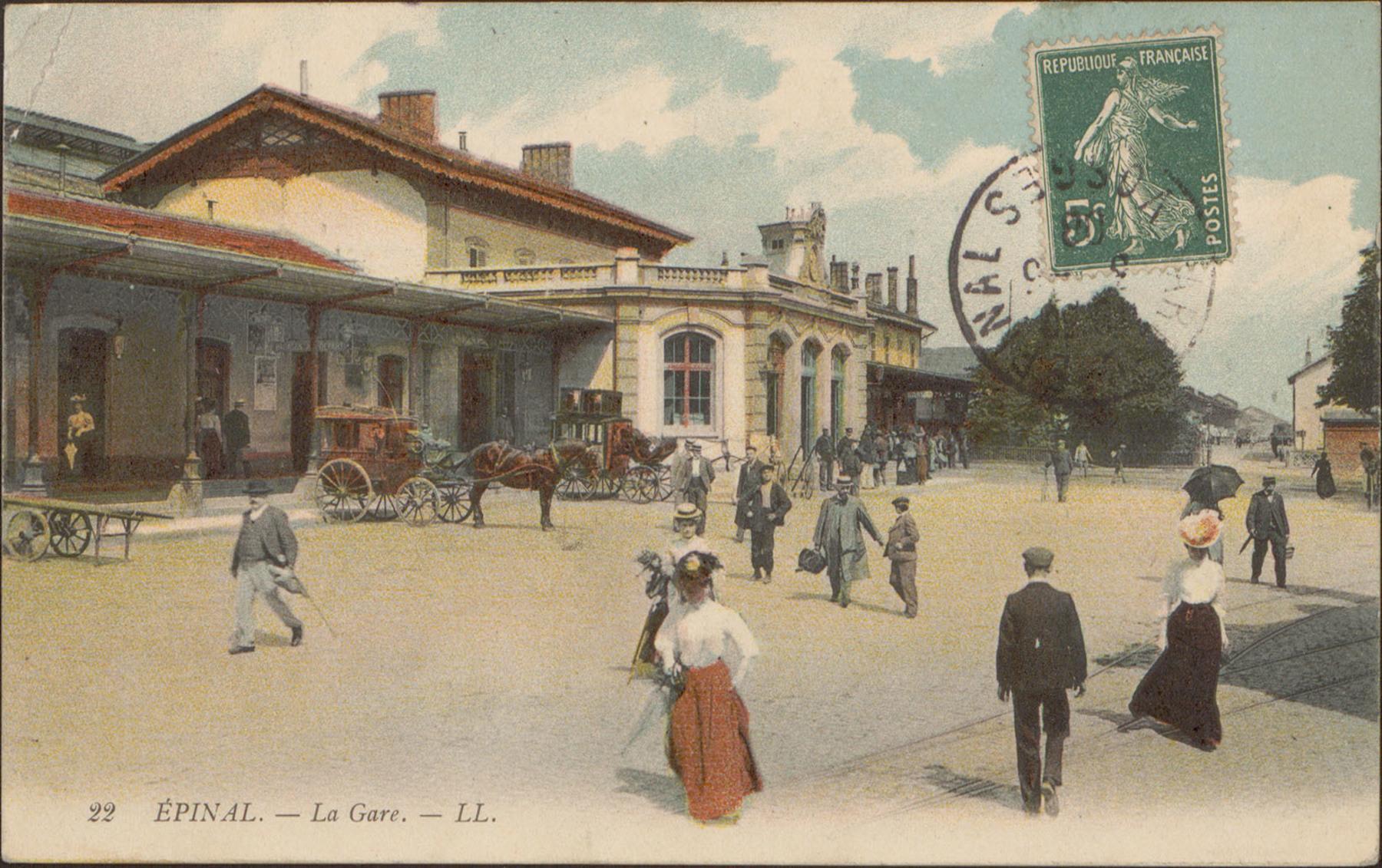 Contenu du Épinal, La Gare