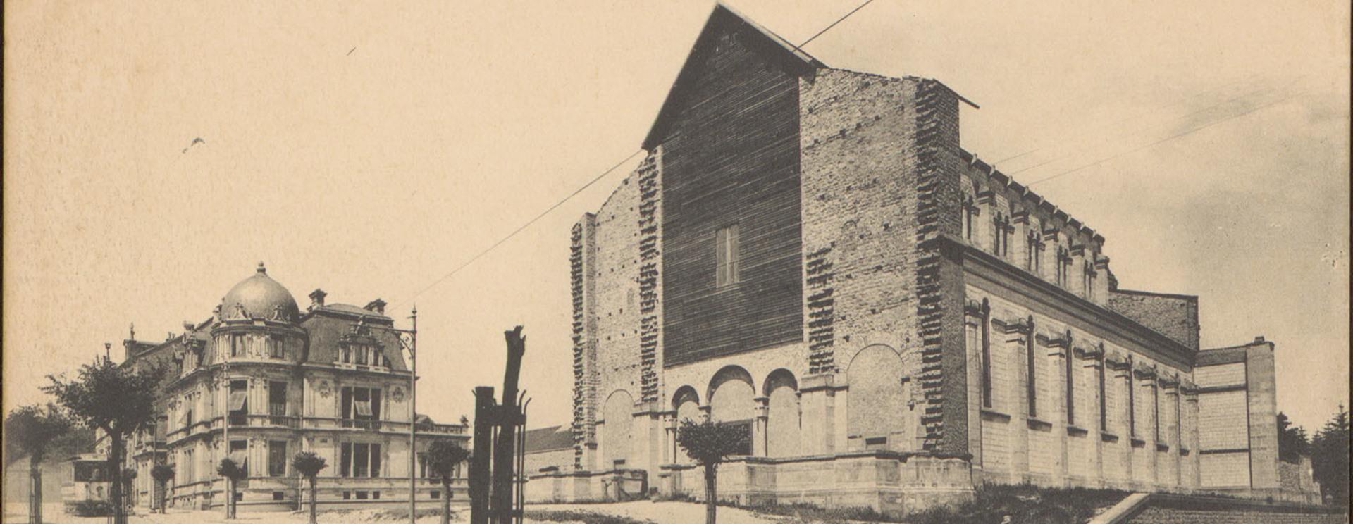 La première église Notre-Dame-au-Cierge à Épinal