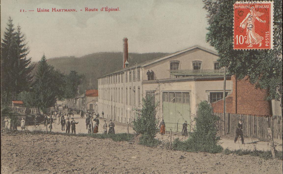 Contenu du Usine Hartmann, Route d'Épinal